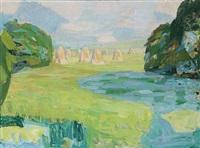 landscape by svend saabye