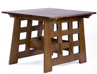 library table by karpen of california