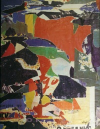 sans titre by g. braque and jacques mahé de la villeglé