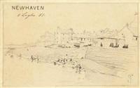newhaven, edinburgh by telemaco signorini