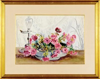 flower bowl by hattie saussy