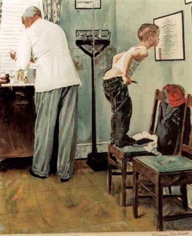 doctors office by norman rockwell on artnet
