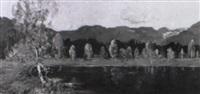 birken am voralpensee by hermann von le suire