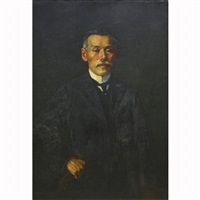portrait by eisaku wada