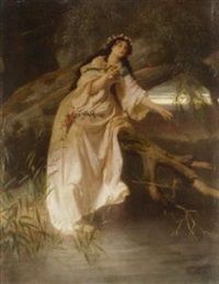 ophelia by ferdinand piloty the younger