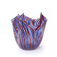 fazzoletto vase by fulvio bianconi and paolo venini
