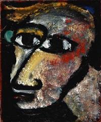 et menneske portræt by vibeke alfelt