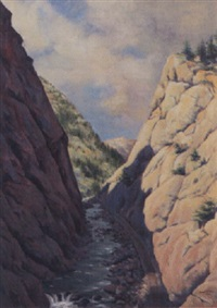 canyon pass by andrew putnam hill