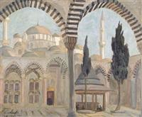 la mosquée de fatih à istanbul by marcel amiguet