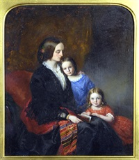 portrait of a family by edwin dalton smith