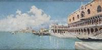 vista de venecia by rafael senet y perez