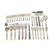 acorn cutlery (set of 36) by johan rohde