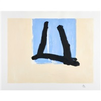 summer sign by robert motherwell