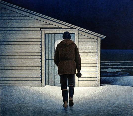 Christmas Eve At  Christopher Pratt Christmas Eve