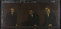 the executive triptych by james francis gill