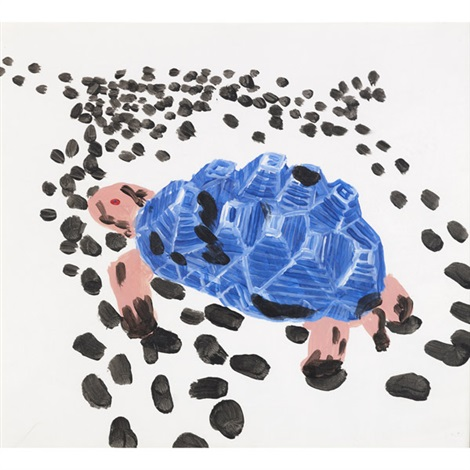 untitled turtle by david shrigley