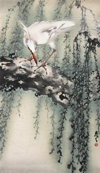 鹤 by huang leisheng