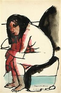 bagnante stanca by francesco tabusso