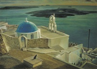 scenery of greece by lien chien hsing