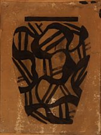 Sketch Drawing Of Vase By Thorvald Bindesboll On Artnet