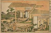 nidanme no zu (from ukie chûshingura) (ôban, yokoe) by utagawa toyokuni (toyokuni i)