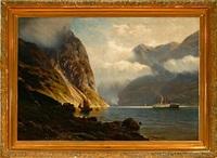 geirangerfjorden by johannes harders