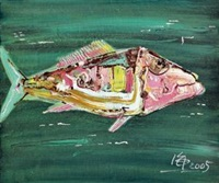 鱼 (fish) by jiang hai
