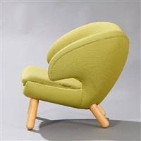 the pelican chair (model fj 4001) by finn juhl