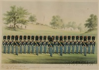 washington artillery, boston by john henry bufford