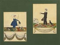 charles edwin tilton and george bainbridge tilton (2 works) by joseph h. davis