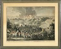 bombardement de copenhague by johann lorenz rugendas the younger