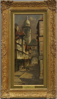 rouen by alfred bentley
