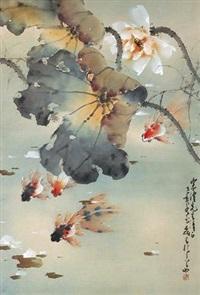 金鱼 by huang leisheng