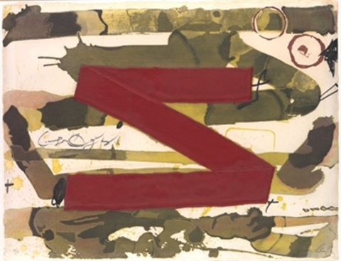 z by antoni tàpies