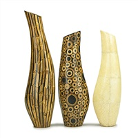 vases (3 works) by ria and youri augousti
