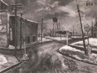 railroad crossing new orleans by roger holt