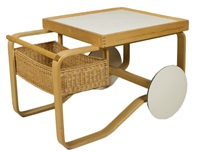 catering trolley by alvar aalto