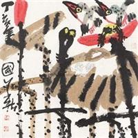 荷香图 by jiang guohua