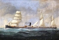 the british steam and sail cargo ship