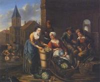 gemüse- und fischmarkt by joseph dorn