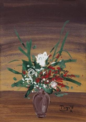 vase de fleurs by tang haywen