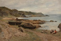 an aberdeenshire cove by archibald david reid