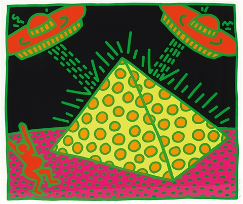 from the fertility suite by keith haring