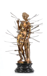 venus with spoons by arman