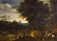 escena de batalla by adam frans van der meulen