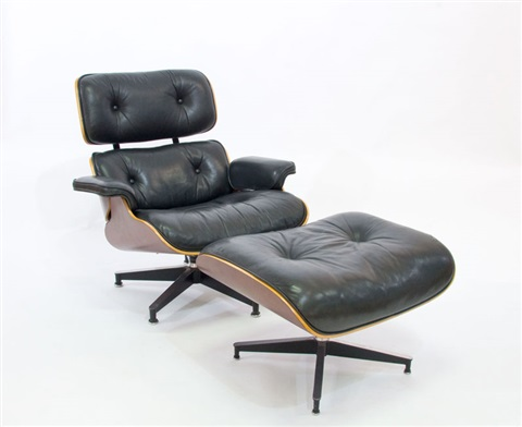 eames 670 armchair and ottoman 2 works by herman miller