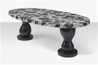 salome, a dining table by elizabeth garouste and mattia bonetti