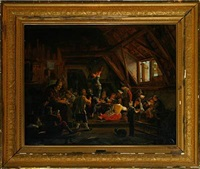 interior from a country classroom by johannes dircksz oudenrogge