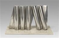 säulenwand 10/69 (modell) by erich hauser