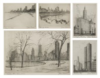 untitled (chicago) (+ 12 others; 13 works) by james swann